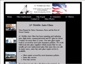 a a plus mobile auto glass box 471110 tulsa ok 74147